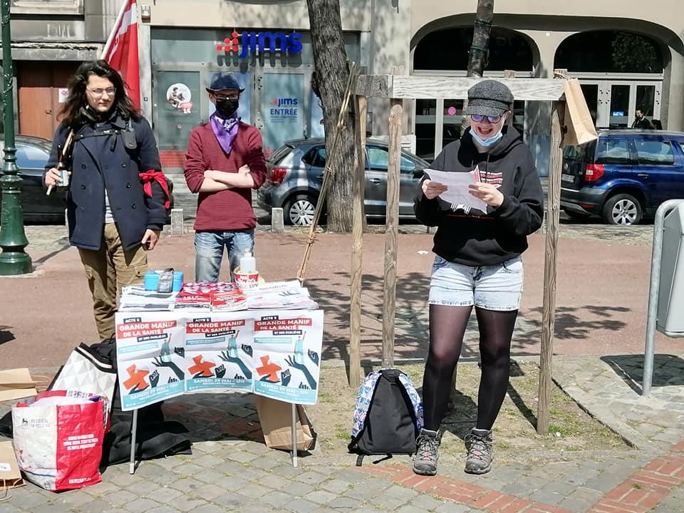 Liège. Discours de la Campagne ROSA du 1er mai 2021