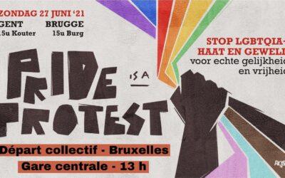 Pride is a protest ! Participez à nos actions le 27 juin