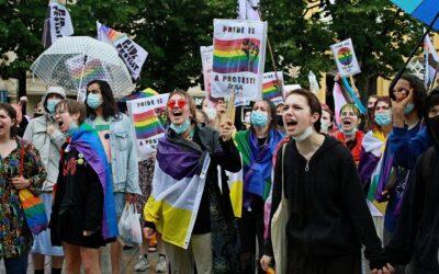 """Excellentes premières éditions des actions """"Pride is a Protest"""""""