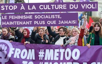 Stop à la culture du viol! Le féminisme socialiste, maintenant plus que jamais!