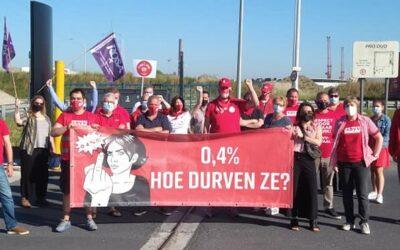 Manifestation | La loi sur les salaires doit changer! 24/09, 10h30, Gare du Nord
