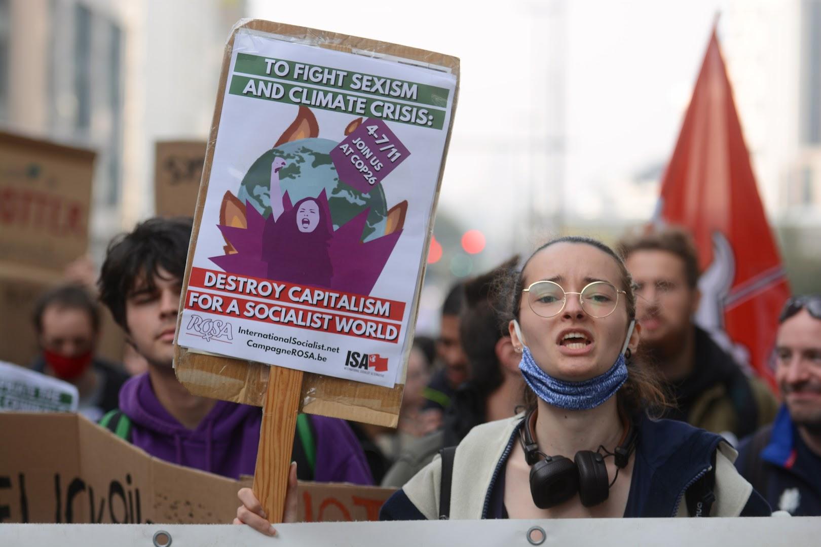 Manifestation pour le climat : nous étions 70.000 à Bruxelles !